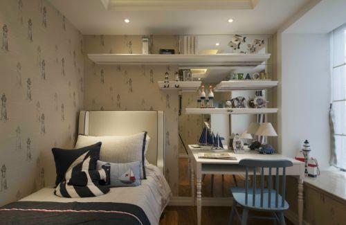 现代简约二居室儿童房衣柜装修效果图欣赏