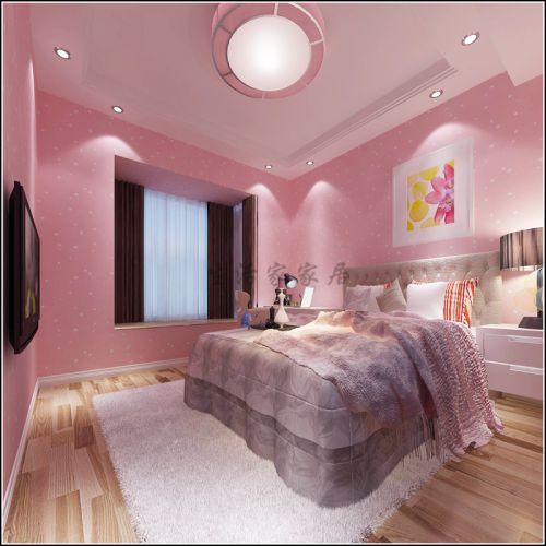 现代简约四居室儿童房灯具装修效果图