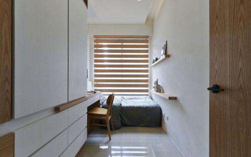 现代简约三居室儿童房窗帘装修效果图欣赏