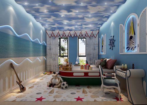 现代简约四居室儿童房照片墙装修效果图欣赏