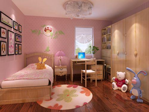 后现代风格三居室儿童房飘窗装修效果图大全