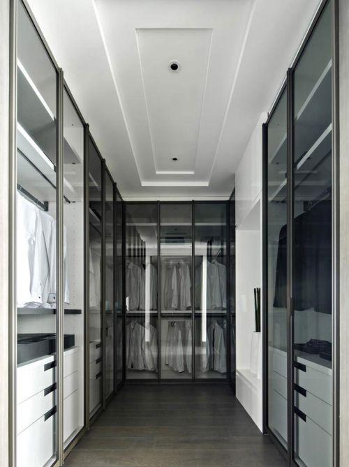 242平现代风格别墅衣帽间设计效果图