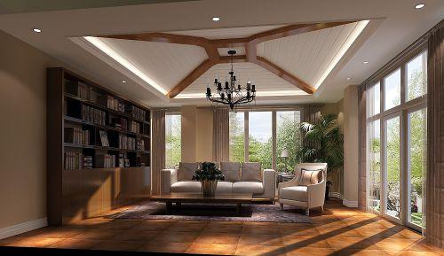 现代简约四居室衣帽间吊顶装修效果图欣赏