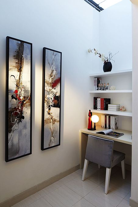 现代简约二居室书房装修效果图大全