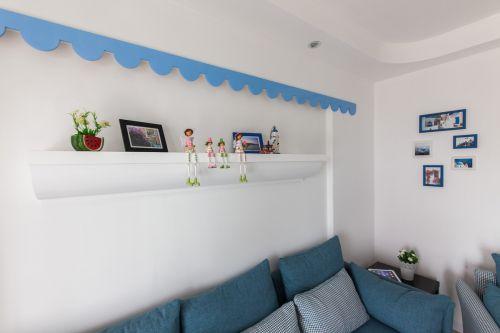 地中海风格客厅装潢设计