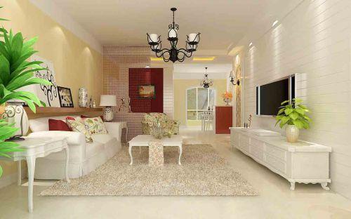 地中海风格客厅设计图