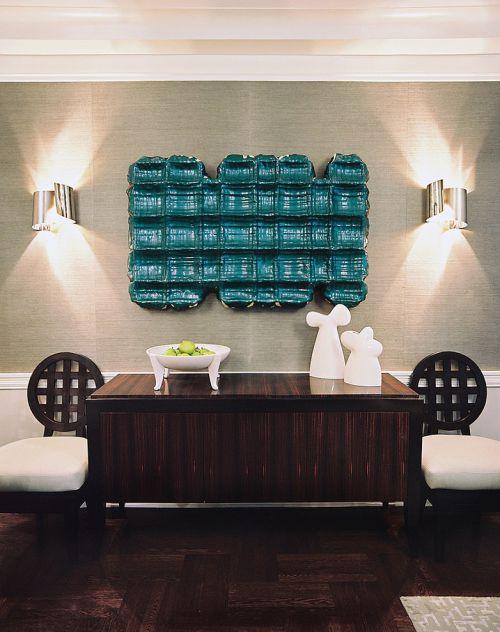 2016时尚个性地中海风格客厅设计图片
