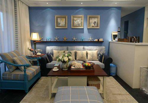 自由轻松地中海风格客厅装修图片