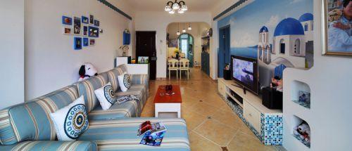地中海设计客厅设计图