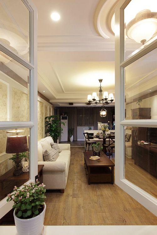 2016美式风格客厅装修案例