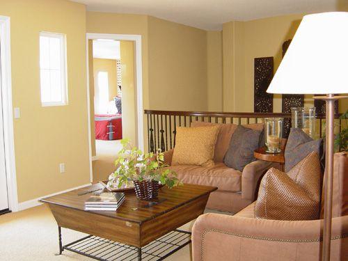 淡雅质朴清爽宜人美式客厅效果图欣赏