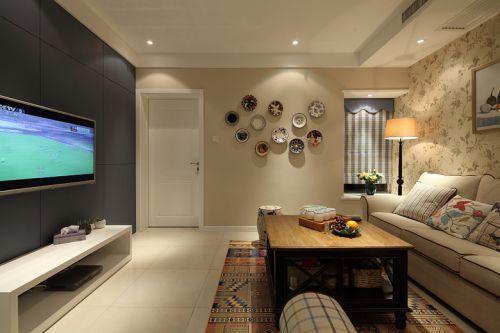 温馨美式风格客厅设计赏析