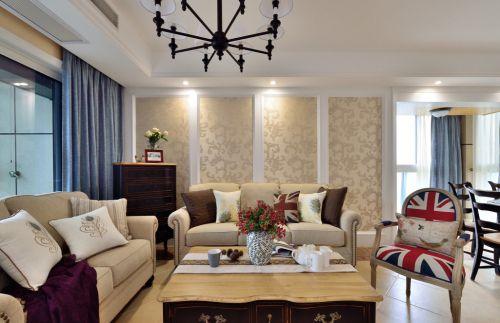 欧美现代化优雅客厅设计