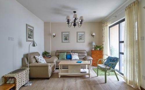 经典温和美式客厅设计