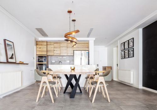 文艺美式客厅装修设计