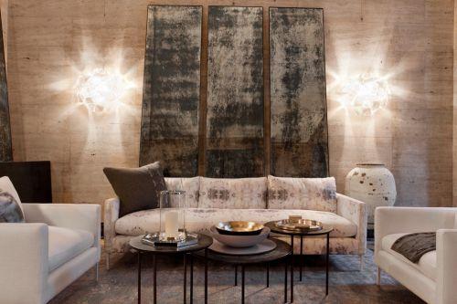 淳朴文艺美式风格客厅装饰案例