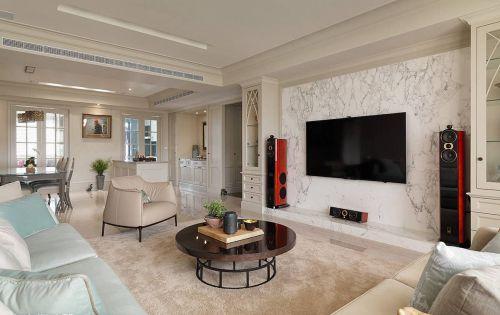 大气优雅美式客厅装潢装饰图片