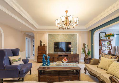 清新美式客厅设计美图