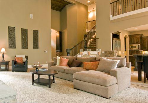 温馨美式客厅装修设计