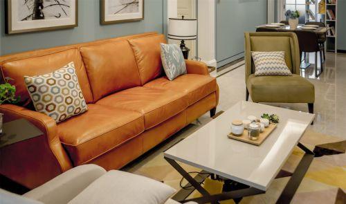 现代经典美式复古客厅设计