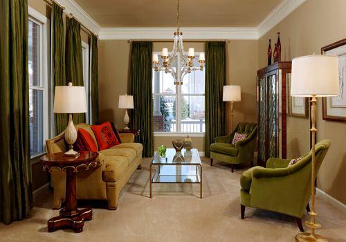 简洁美式客厅装修美图