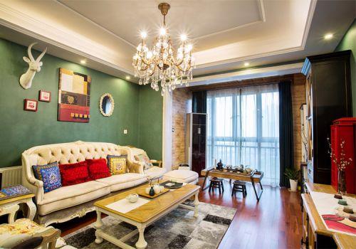 温馨美式风格客厅装修效果图