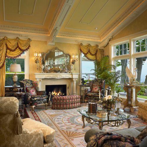 2016美式风格温馨客厅装修案例