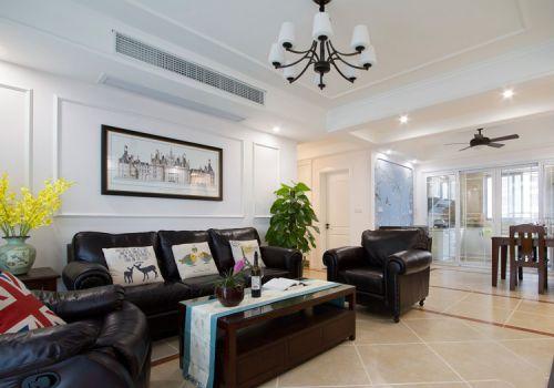 美式温馨客厅设计