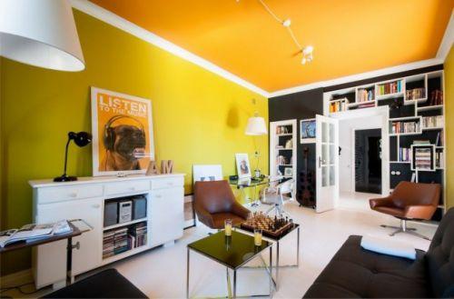 美式风格客厅装饰设计效果图