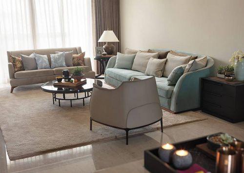 2016美式舒适优雅客厅欣赏