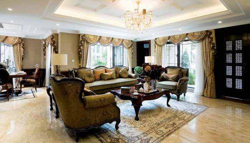美式客厅装修案例欣赏