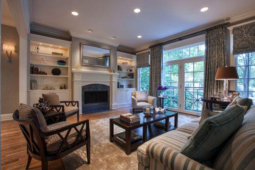 休闲美式简约风格客厅装修美图赏析