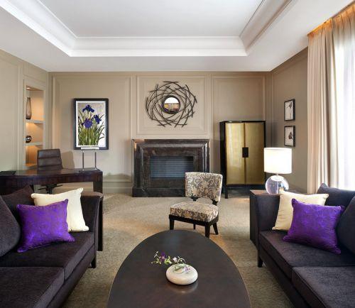 休闲美式风格客厅图片赏析