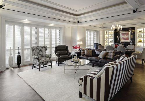 美式特色沙发客厅欣赏