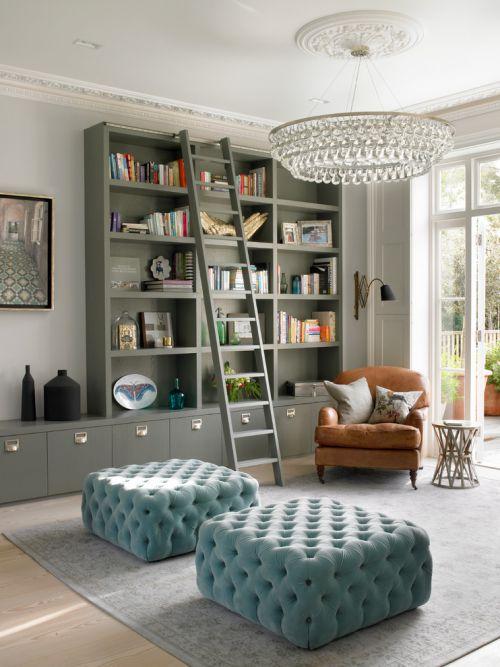 灰色美式客厅装修图片
