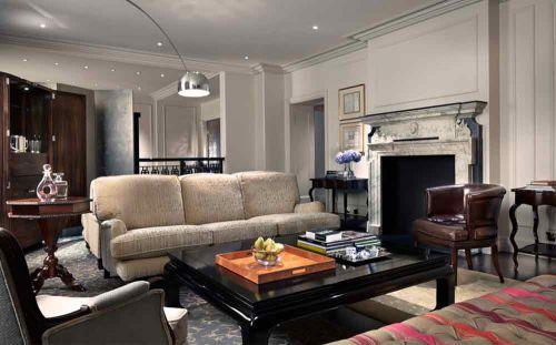 休闲温馨美式风格客厅装修图片精选