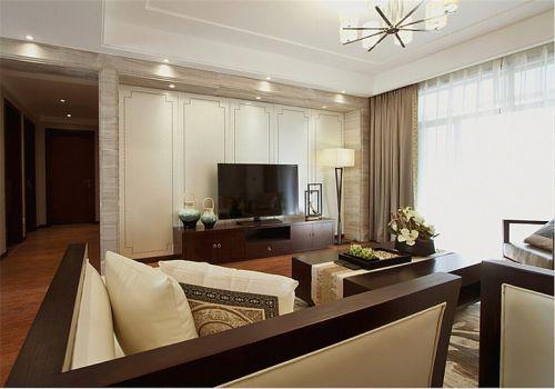 雅致大气美式风格客厅设计赏析