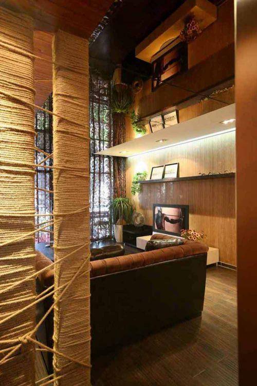美式独特客厅装修设计