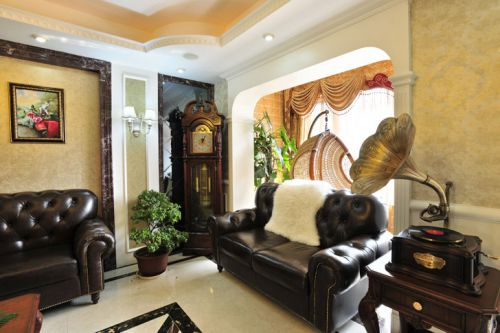 华丽大气美式风格客厅美图欣赏