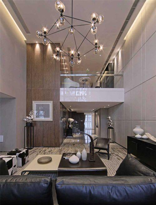 创意现代美式风格客厅装潢