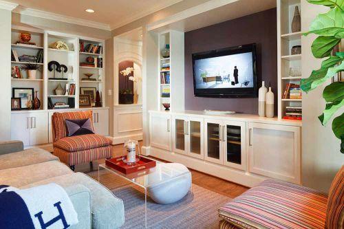 美式休闲时尚客厅装修案例