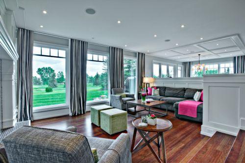休闲美式客厅装潢案例
