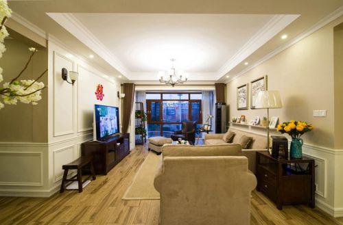美式风格客厅装潢设计案例