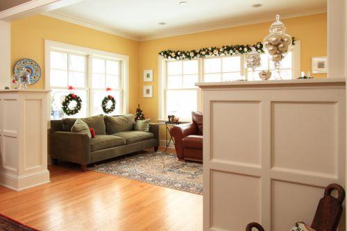 美式风格米色客厅装修效果图