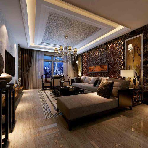 美式奢华客厅欣赏
