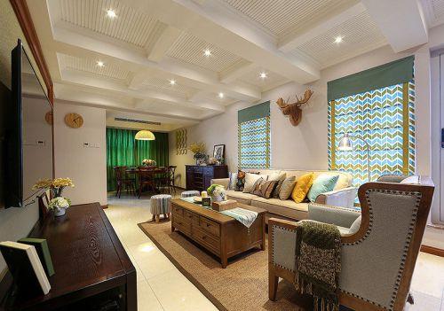 创意个性混搭风格客厅装修效果图片