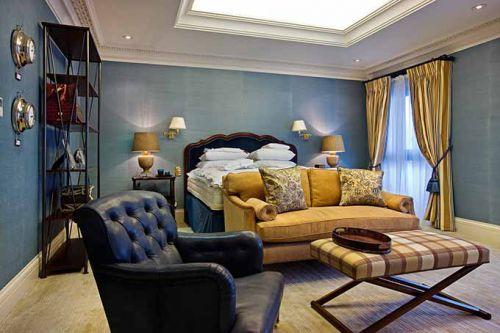 美式现代客厅装修效果图