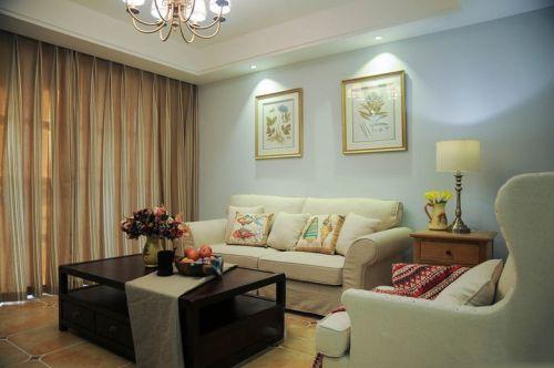 舒适美式风格客厅装饰案例