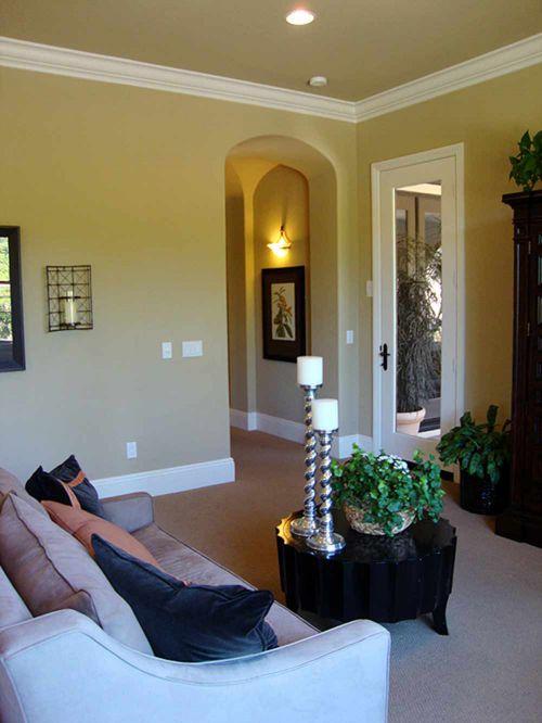 2016精美优雅美式客厅装修布置