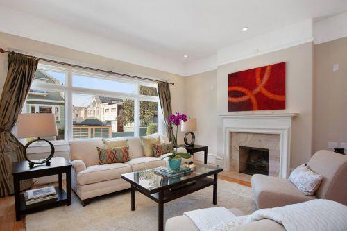 美式简约风格客厅装饰设计图片